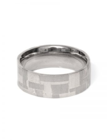 Shared Terrain White Gold Ring