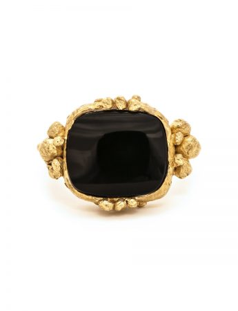 Touchstone Ring - Black Onyx