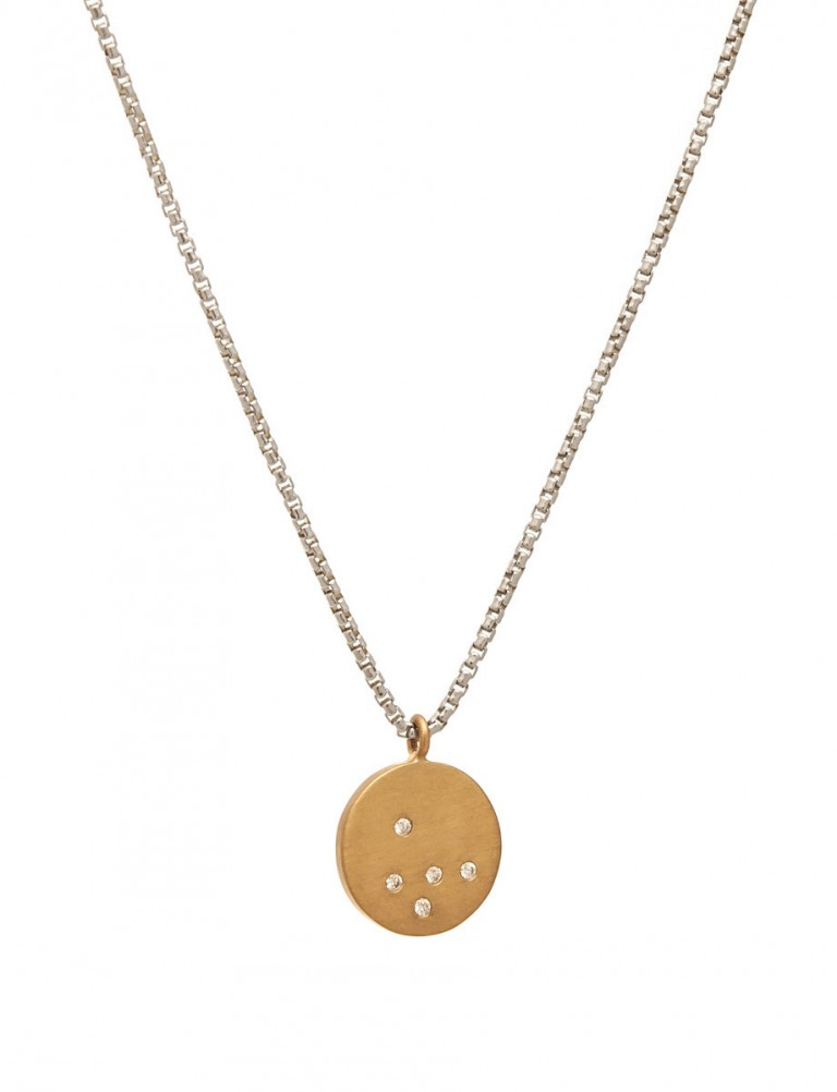 Speckled Necklace – Diamonds