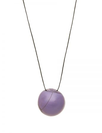 Medium Button Pendant – Blue / Purple
