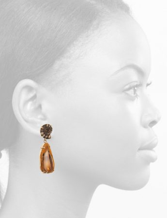 Prehistoric Drop Earrings