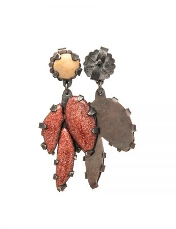 Red Gum Earrings