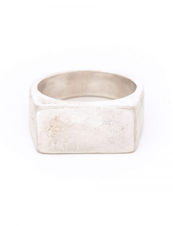 Ridge Signet Ring