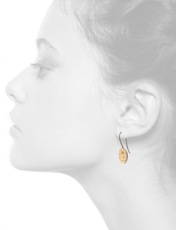 Shared Terrain Hook Earrings – Oval