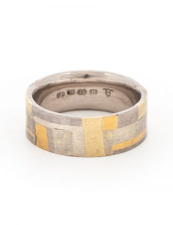 Shared Terrain Two Tone Ring