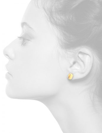Shared Terrain Stud Earrings – Oval