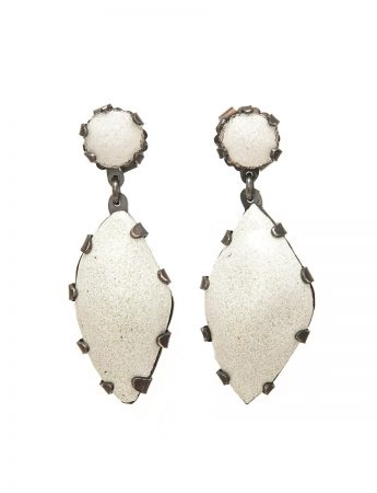 Ghost Gum Earrings – Single Drop