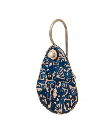 Stamens Earrings - Blue