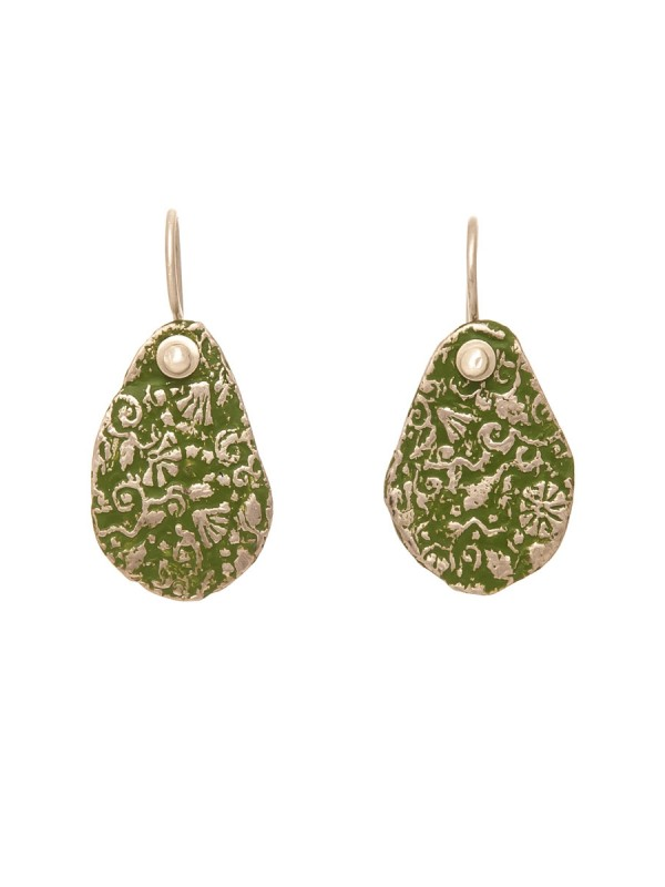Stamens Earrings – Green