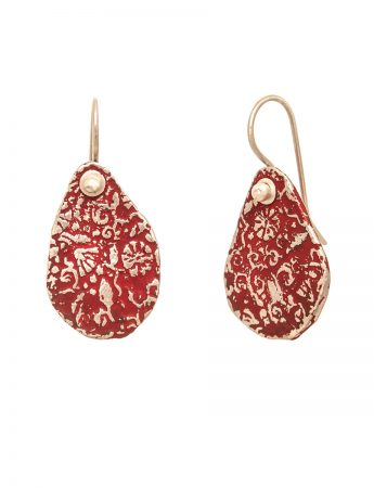 Stamens Earrings - Red