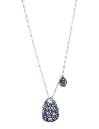 Stamens Necklace - Blue