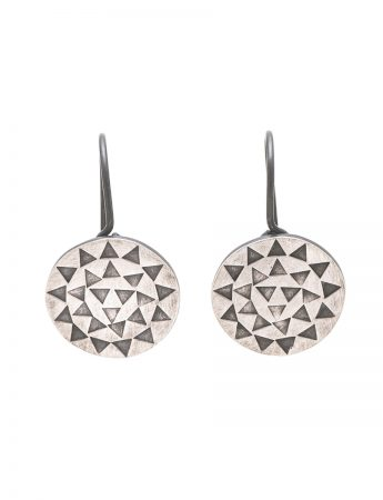 Sundisk Earrings - Silver