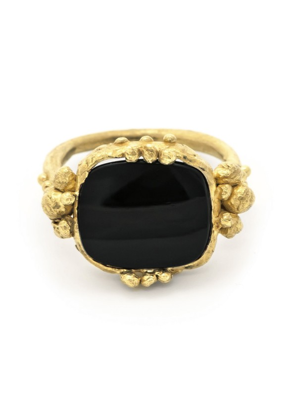 Touchstone Ring – Black Onyx