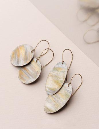 Beach Earrings – Oval