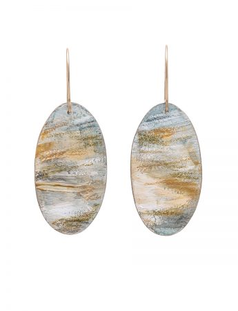 Beach Earrings - Oval