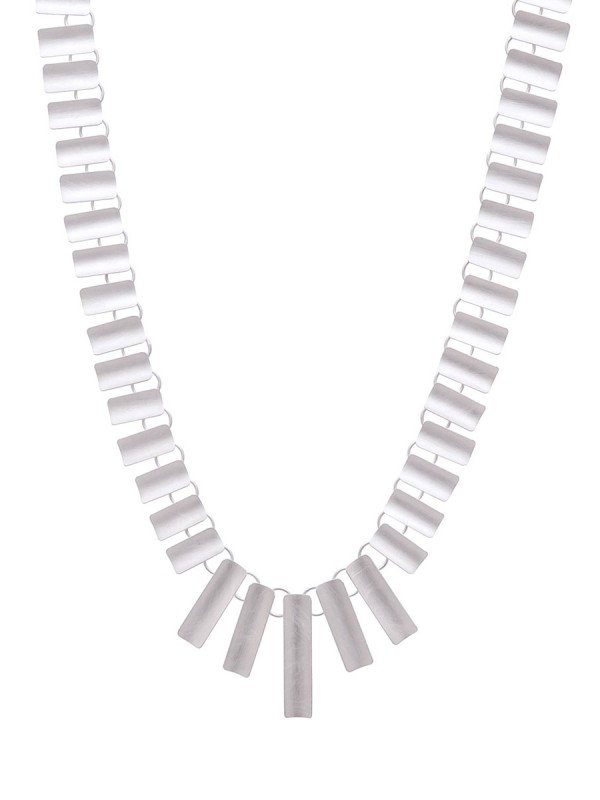 Curved Rectangles Necklace