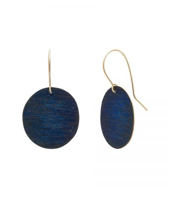 Deep Water Earrings - Blue