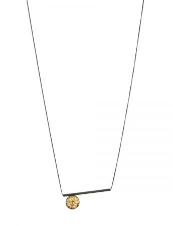 Circle Line Pendant Necklace – Long