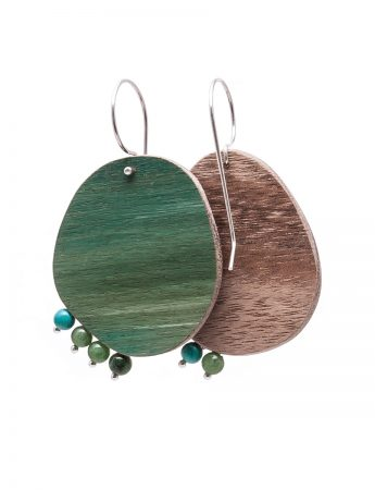 Meadow Earrings - Green