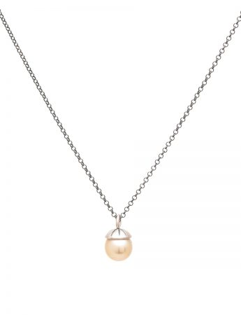 Mermaid Pearl Pendant Necklace