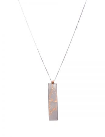 Plant Pendant (Japanese Blossom) - Rose Gold Plated