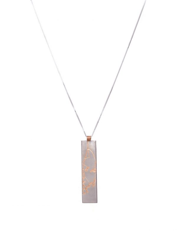 Plant Pendant (Japanese Blossom) – Rose Gold Plated