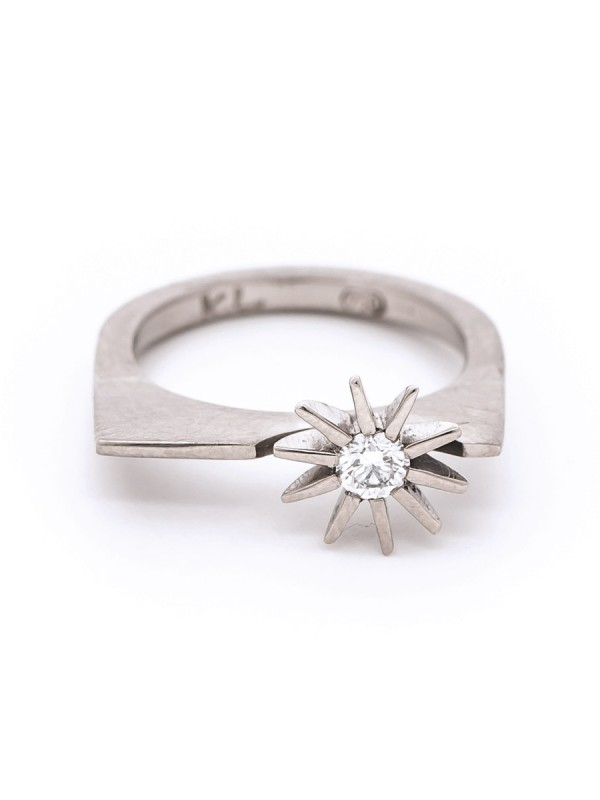 Radiant Star Architectural Ring