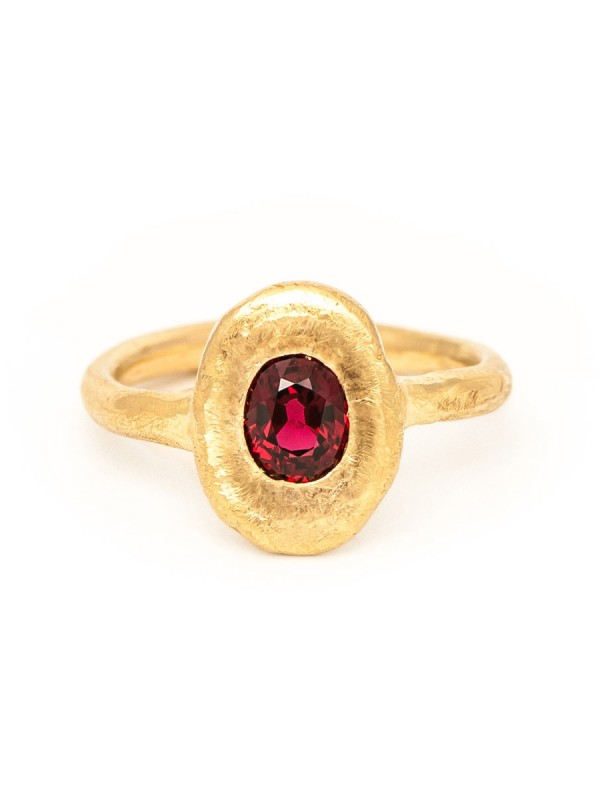 Companion Ring – Red Spinel