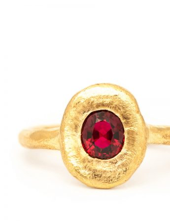 Companion Ring - Red Spinel