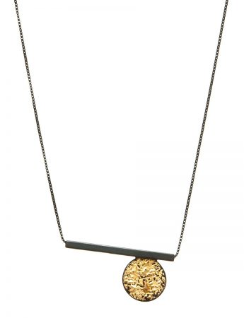 Circle Line Pendant Necklace – Short
