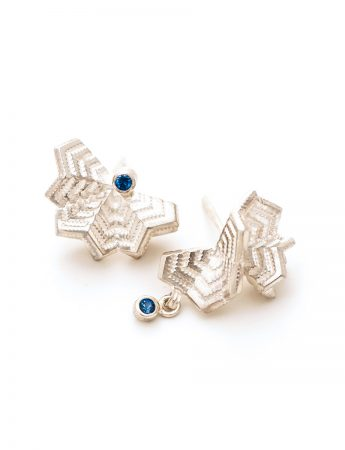 Unmatchy Matchy Earrings - Sapphire