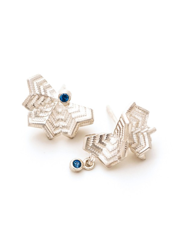 Unmatchy Matchy Earrings – Sapphire