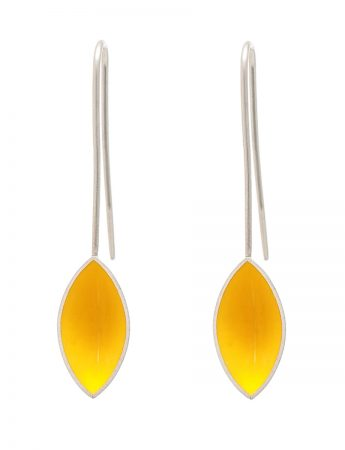Pod Earrings - Yellow