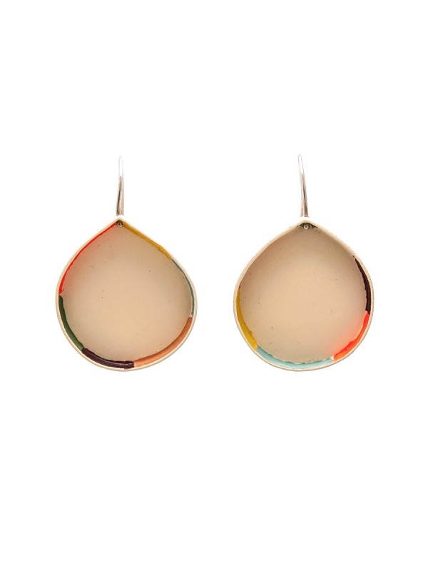Colour Strip Earrings – Waterdrop