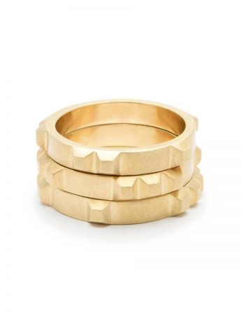Enigma Ring - Yellow Gold
