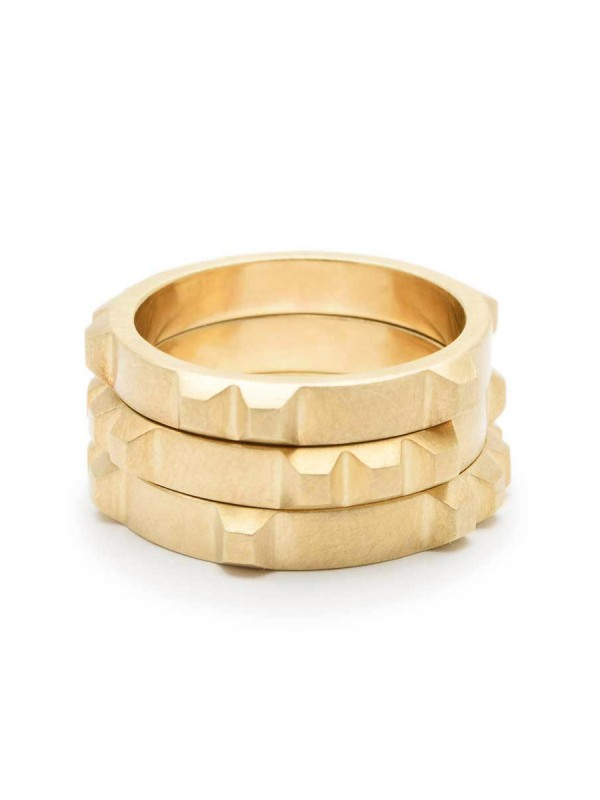 Enigma Ring – Yellow Gold