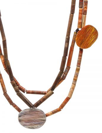 Landlines Necklace – Desert