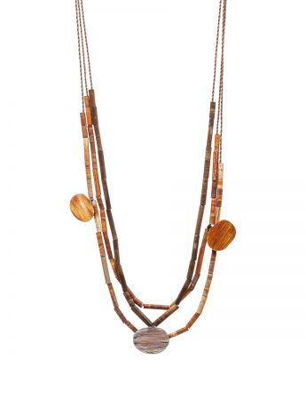 Landlines Necklace - Desert