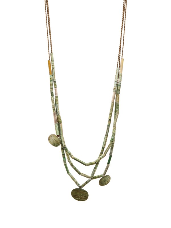 Landlines Necklace – Plains