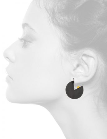 Horizon Earrings – Yellow