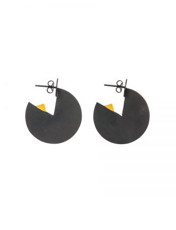 Horizon Earrings - Yellow