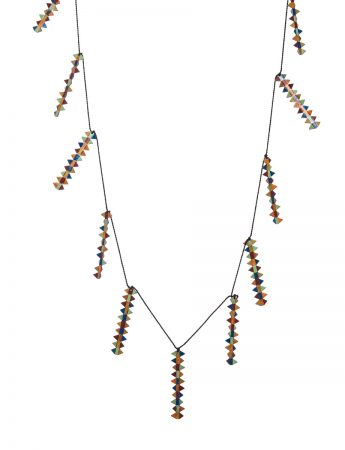 Banksia Necklace - Warm