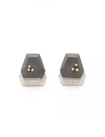 Trio Earrings - Grey