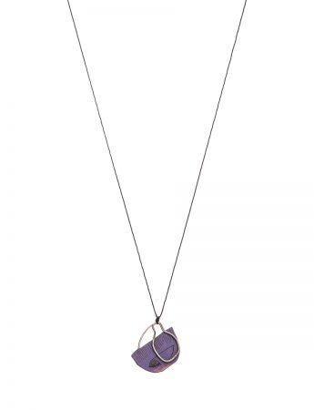 Two Wishes Necklace - Purple