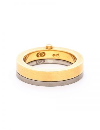 Gimmel Ring - Diamond