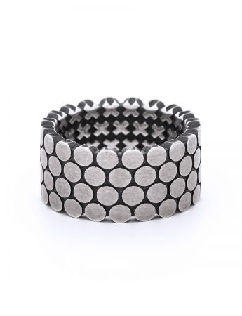 Four Stack Secret Kisses Ring - Silver