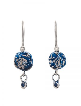 Fragment Drop Earrings – Sapphire