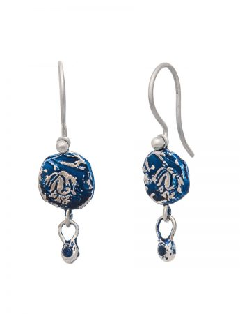 Fragment Drop Earrings - Sapphire