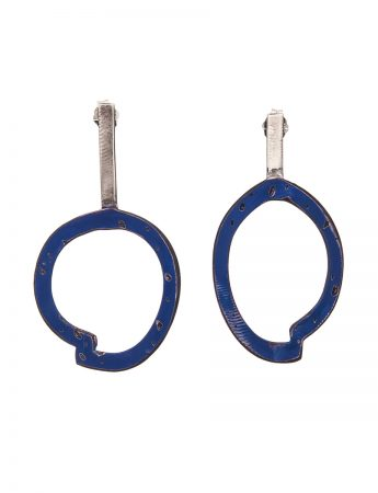 Freckles Earrings - Dark Blue