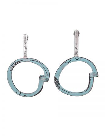 Freckles Earrings - Light Blue